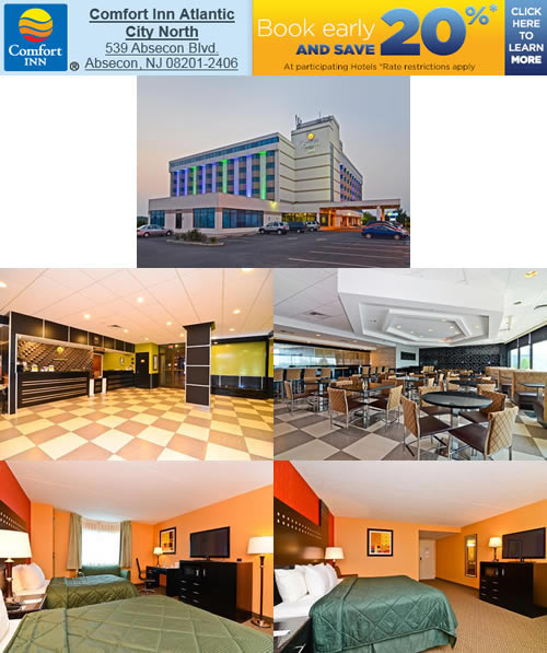 Comfort Inn - Atlantic City North