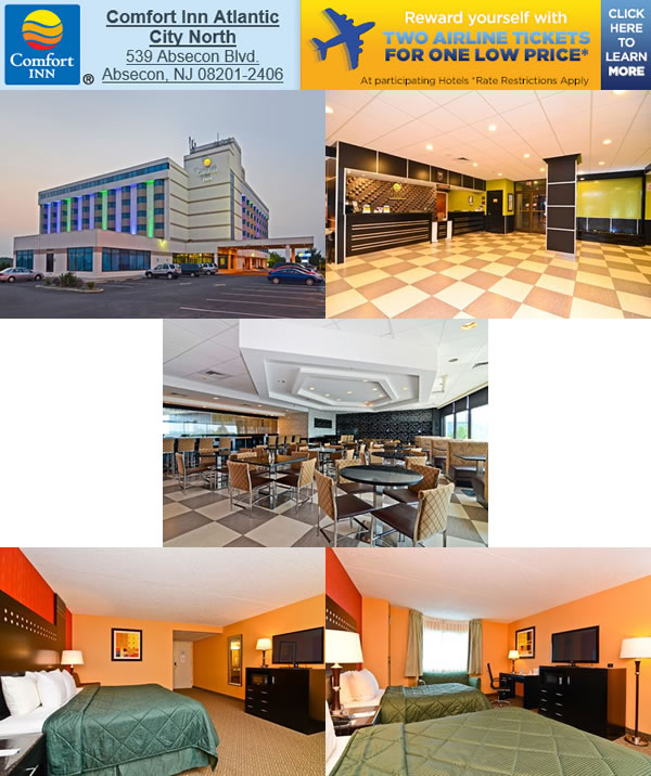 Comfort Inn, AC North, Absecon, NJ