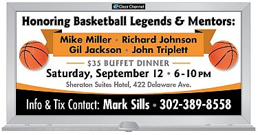 Honoring Basketball Legends & Mentors - SEPT 12