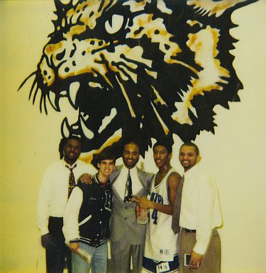 Howard High School Basketball Team - 1996 Championship Photos 2 of 2
