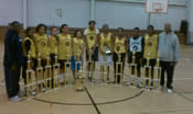 Sanford School Girls - Urban Youth Inc BB League Champs