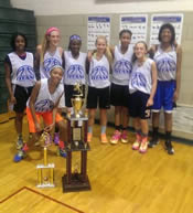 Titans: 8th Grade Girls Champs, UYI League Champions 2014