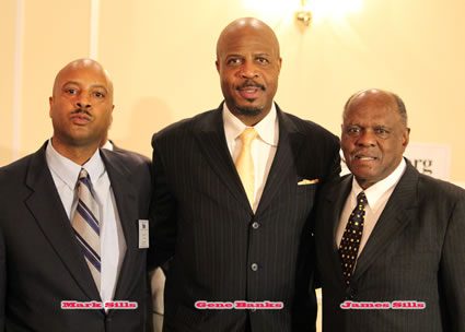 Mark Sills, Gene Banks, James Sills